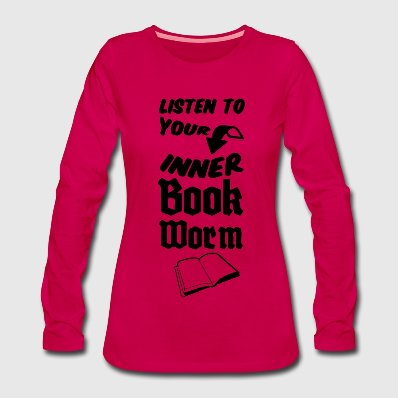 Inner Bookworm Long Sleeve Shirts - Women's Premium Longsleeve Shirt