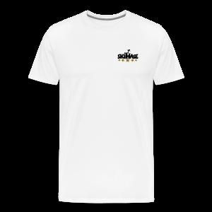 5 Sterne Skihase Gold S-3XL T-Shirt - Männer Premium T-Shirt