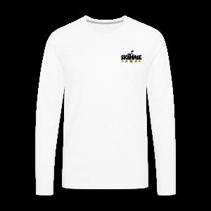 5 Sterne Skihase Gold S-3XL T-Shirt - Männer Premium Langarmshirt