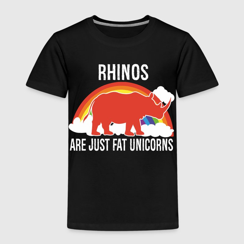 Rhinos -- are just fat Unicorns Shirts - Kids' Premium T-Shirt