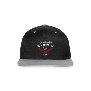 Born under tthe Rock'n'Roll sign - Casquette Snapback contrastée