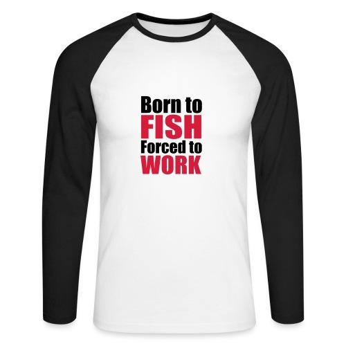 FTWE Hoodie #1 - Men's Long Sleeve Baseball T-Shirt
