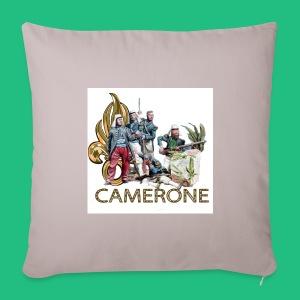CAMERONE combat - Housse de coussin décorative 44x 44cm