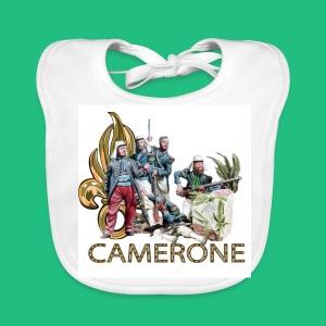 CAMERONE combat - Bavoir bio Bébé