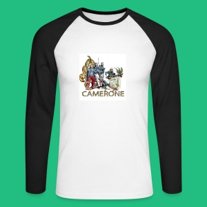 CAMERONE combat - T-shirt baseball manches longues Homme