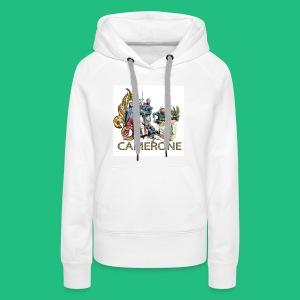 CAMERONE combat - Sweat-shirt à capuche Premium pour femmes