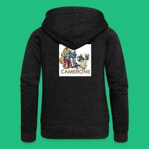 CAMERONE combat - Veste à capuche Premium Femme
