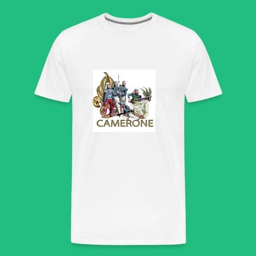 CAMERONE combat - T-shirt Premium Homme