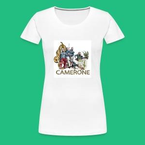 CAMERONE combat - T-shirt Premium Femme