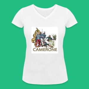 CAMERONE combat - T-shirt bio col V Stanley & Stella Femme