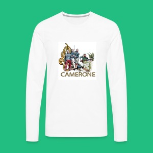 CAMERONE combat - T-shirt manches longues Premium Homme