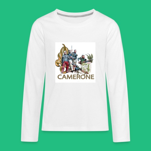 CAMERONE combat - T-shirt manches longues Premium Ado