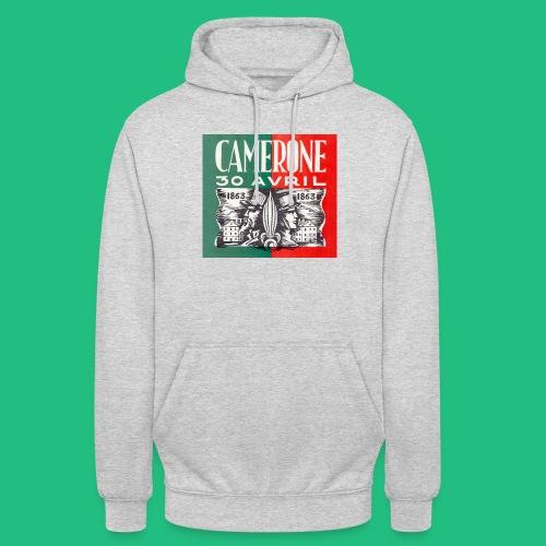 CAMERONE 30 - Sweat-shirt à capuche unisexe