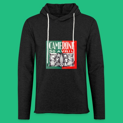 CAMERONE 30 - Sweat-shirt à capuche léger unisexe