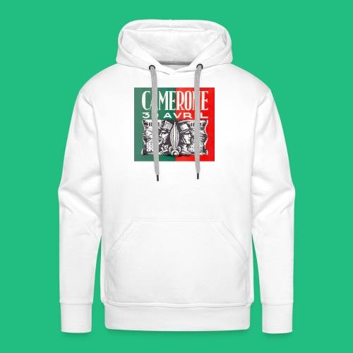CAMERONE 30 - Sweat-shirt à capuche Premium pour hommes