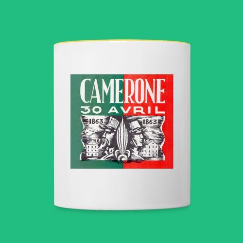 CAMERONE 30 - Mug contrasté