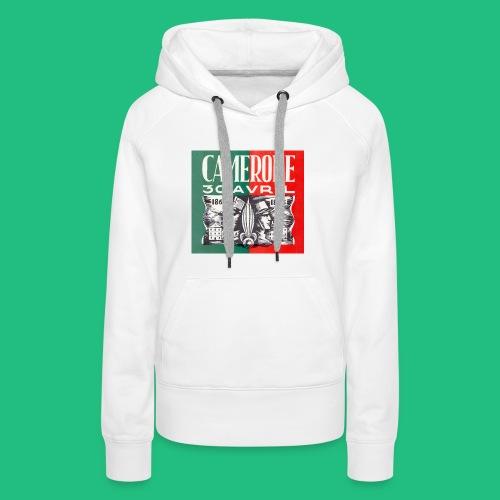 CAMERONE 30 - Sweat-shirt à capuche Premium pour femmes
