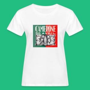 CAMERONE 30 - T-shirt bio Femme