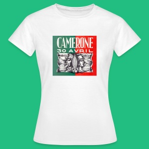 Badge Pins CAMERONE 30 - T-shirt Femme