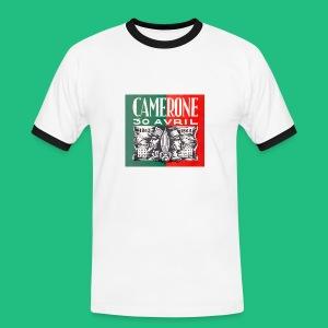 CAMERONE 30 - T-shirt contrasté Homme