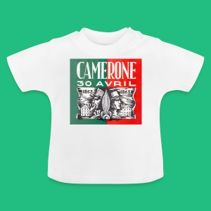 Badge Pins CAMERONE 30 - T-shirt Bébé