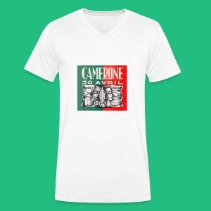 CAMERONE 30 - T-shirt bio col V Stanley & Stella Homme