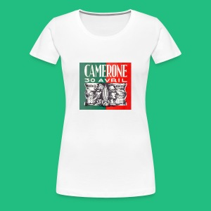 Badge Pins CAMERONE 30 - T-shirt Premium Femme
