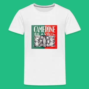 Badge Pins CAMERONE 30 - T-shirt Premium Ado
