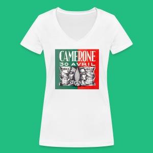 CAMERONE 30 - T-shirt bio col V Stanley & Stella Femme