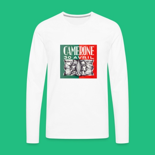 CAMERONE 30 - T-shirt manches longues Premium Homme