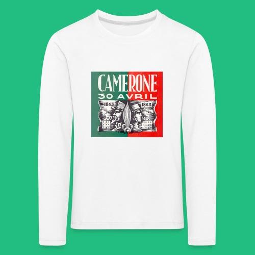 CAMERONE 30 - T-shirt manches longues Premium Enfant