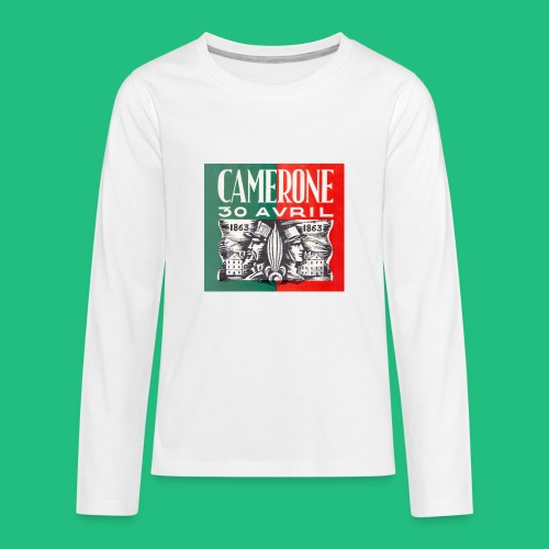 CAMERONE 30 - T-shirt manches longues Premium Ado