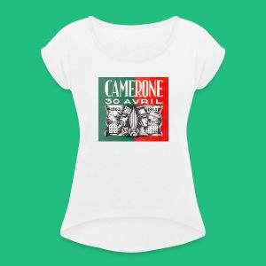 CAMERONE 30 - T-shirt à manches retroussées Femme