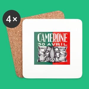 CAMERONE 30 - Dessous de verre (lot de 4)