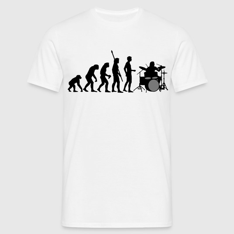 evolution_drummer_b_2c T-Shirts - Men's T-Shirt
