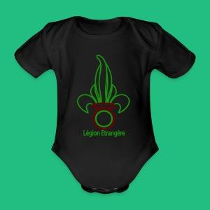 PARAPLUIE LEGION ETRANGERE - Body bébé bio manches courtes