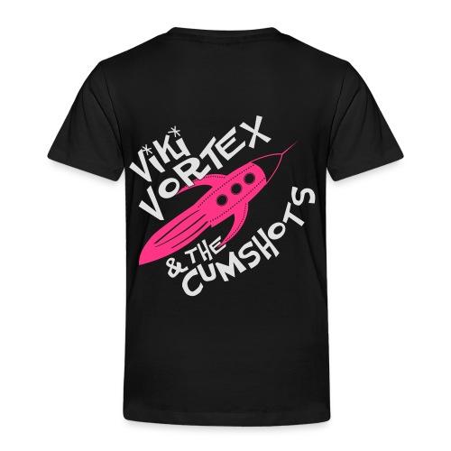 Viki Vortex Hooded Sweatshirt Silver - Kids' Premium T-Shirt