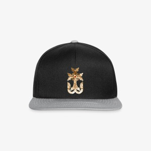 Armenisches Kreuz Gold / Armenian golden Cross Maenner T-Shirt - Snapback Cap