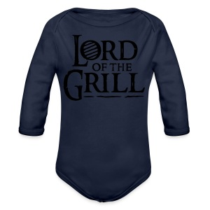 Lord of the Grill - Longlseeve Baby Bodysuit