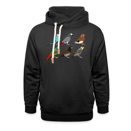 Vogels - Sjaalkraag hoodie