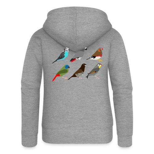 Vogels - Vrouwenjack met capuchon Premium