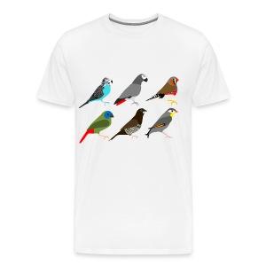 Vogels - Mannen Premium T-shirt