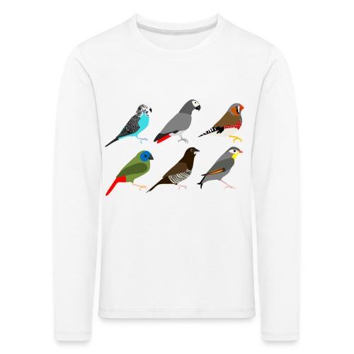 Vogels - Kinderen Premium shirt met lange mouwen