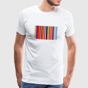 Europe Barcode Flag - Men's Premium T-Shirt
