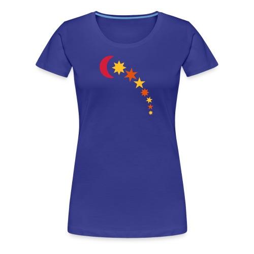 MOND & STERNE | Kinder Kapuzensweatshirt - Frauen Premium T-Shirt