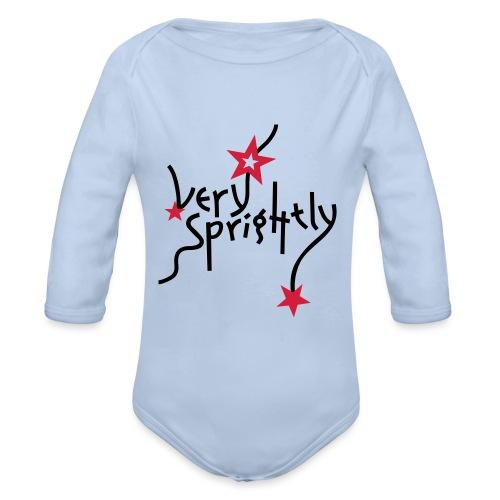 very sprightly | Baby Body - Baby Bio-Langarm-Body