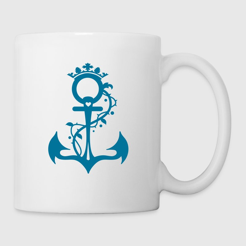 The anchor - faith, hope, love Mugs  - Mug