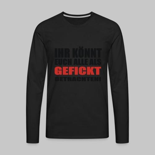 IKEAAGB - Männer Premium Langarmshirt