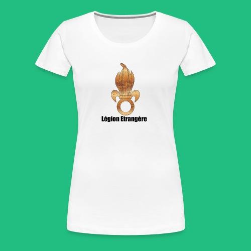 GRENADE LEGION BRONZE - T-shirt Premium Femme