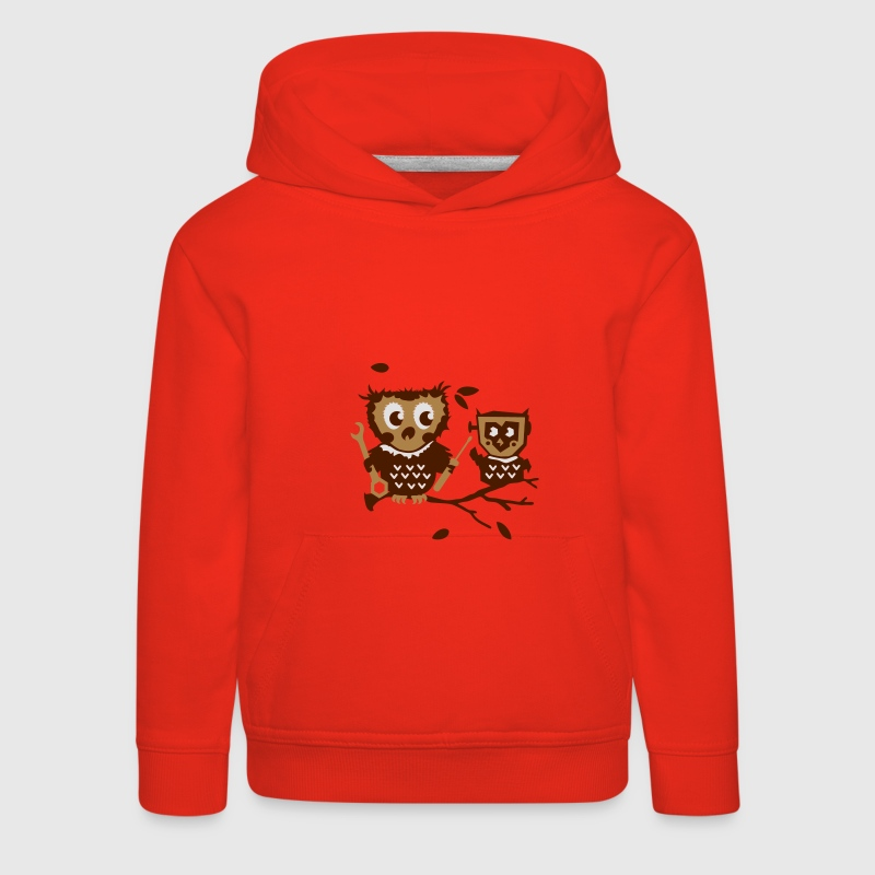 Owls do it yourself kit Kids' Tops - Kids' Premium Hoodie